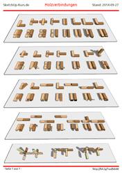 Holzverbindungen  Beispiel: Holzverbindungen – Carstens SketchUp Blog